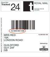 Royal Mail Tracked 24 and 48