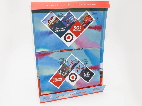 The 50th Display Season of the Red Arrows Flown Sheet Set