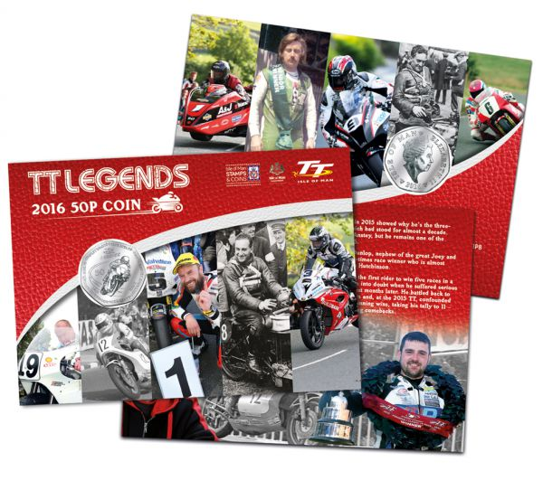 TT Legends 2016 50p (in wallet)