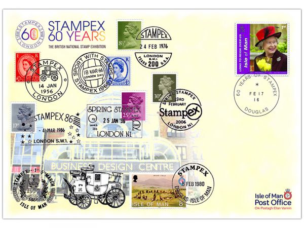 Stampex 60 Years Special Cover