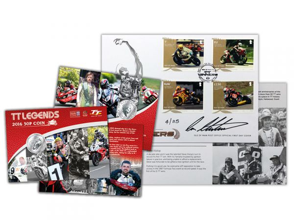 Limited Edition Ian Hutchinson Stamp Pack