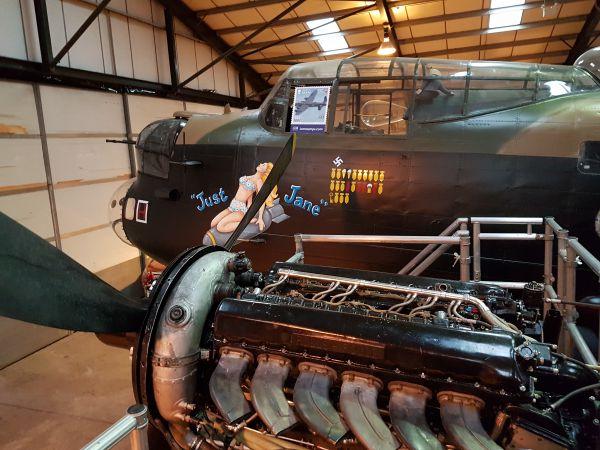 An Avro Lancaster Bomber