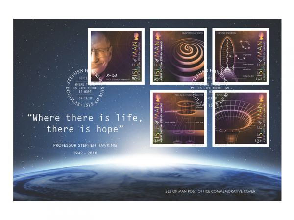 Professor Stephen Hawking Special Commemorative Cover