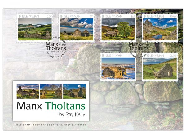 Manx Tholtans First Day Cover