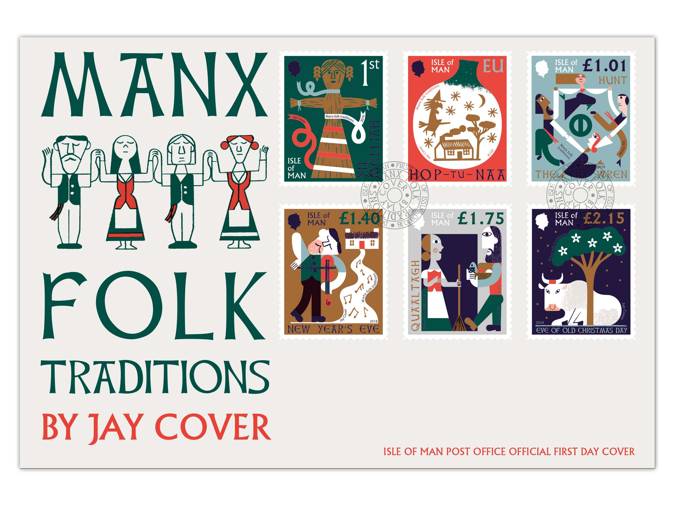 MANX FOLK TRADITIONS RECREATED IN ISLE OF MAN POST OFFICE STAMPS ...
