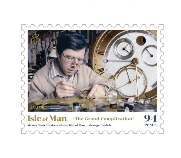 马恩岛8月11日发行马恩岛的制表大师邮票
