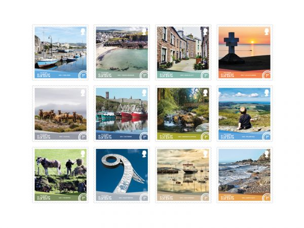 马恩岛7月29日发行我们的出生地邮票