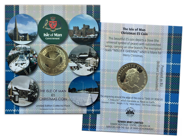 Isle of Man Limited Edition Proof Like Coin Numbered Gift Pack