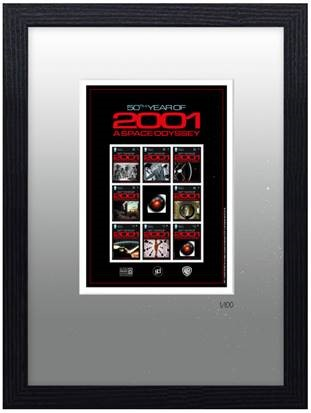 2001: A Space Odyssey - Framed Commemorative Sheetlet