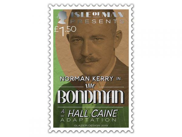Hall Caine stamp_150p_Norman Kerry