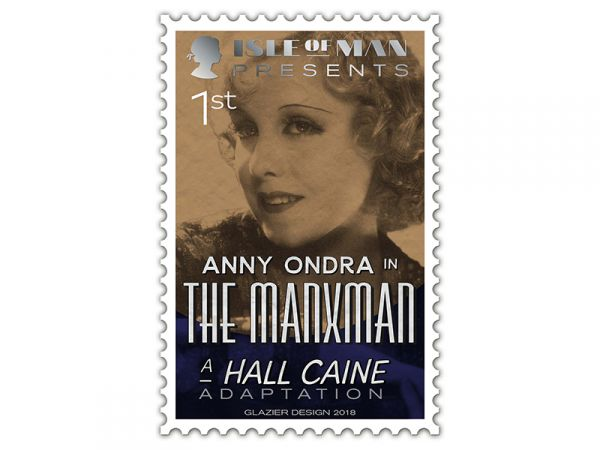 Hall Caine stamp_First class_Anny Ondra
