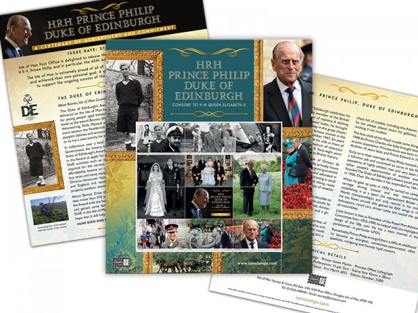 HRH Prince Philip Duke of Edinburgh Sheetlet (Mint)