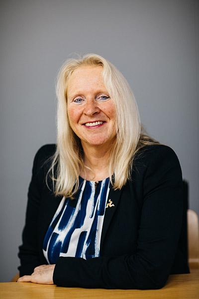 Julie Edge MHK Chairman Isle of Man Post Office