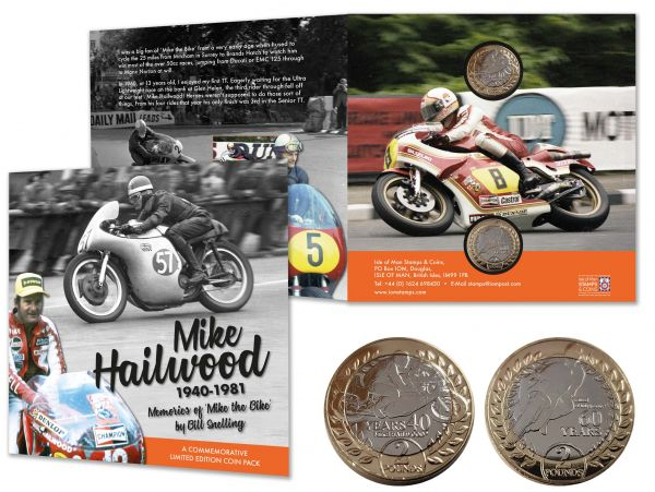 Mike Hailwood Commemorative Limited Edition Coin Pack