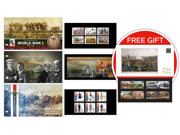 Military Presentation Pack Compilation with Free Gift