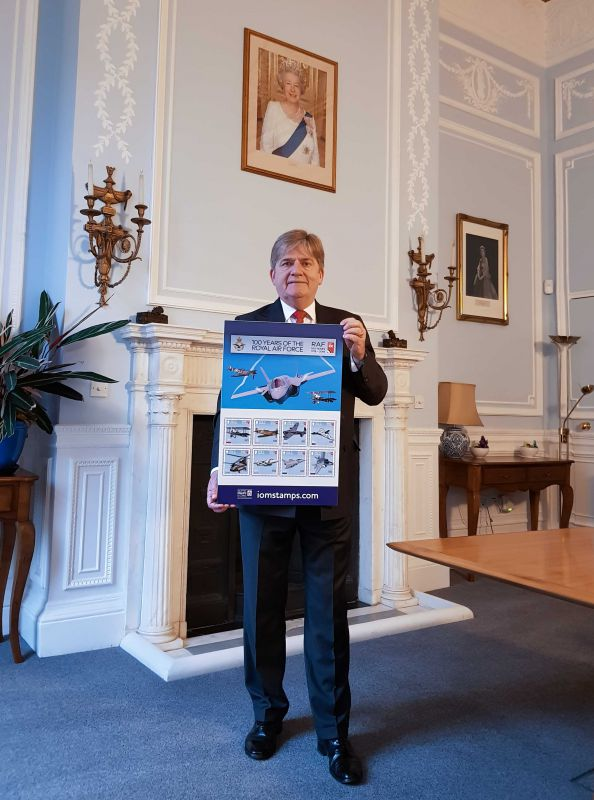 Air Vice Marshal David Murray OBE, Controller of the RAF Benevolent Fund