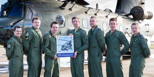 The 2018 Chinook Display team at RAF Odiham
