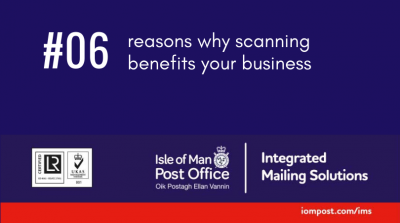 Six reasons why scanning benefits your business