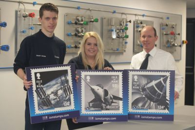 Royal Aeronautical Society anniversary stamps capture Isle of Man cutting-edge aerospace technology