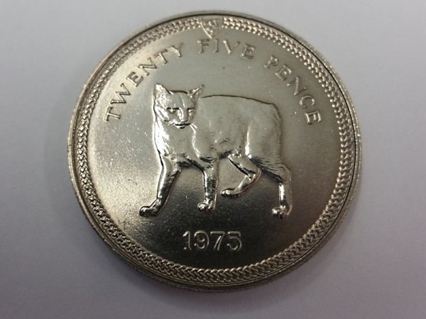 1975 Manx Cat Crown