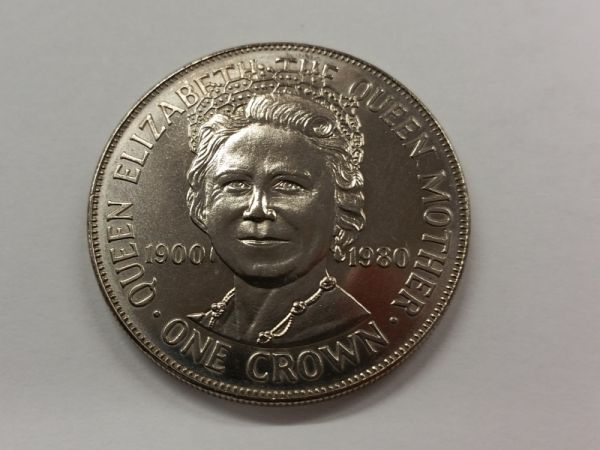 1980 Queen Mother Crown (IOM)
