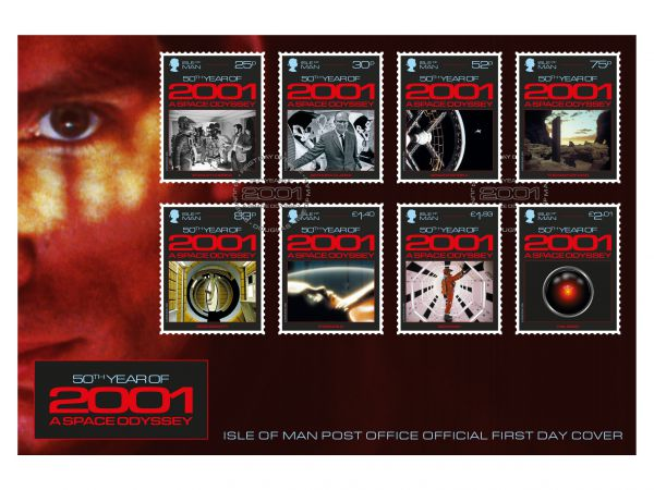 2001: A Space Odyssey First Day Cover