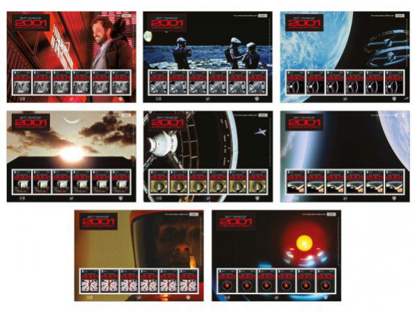 2001: A Space Odyssey Pictorial Sheet Set