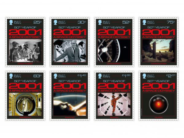 2001: A Space Odyssey Stamp Set