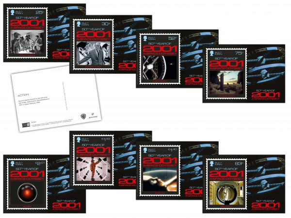 2001: A Space Odyssey Stampcards
