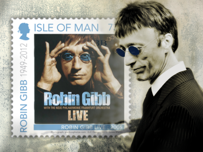 Postal tribute to Robin Gibb CBE to be attended by family
