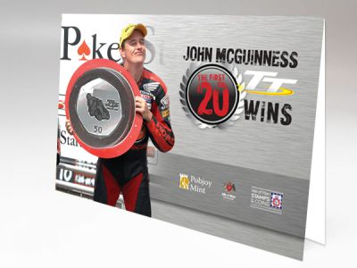 New silverware to celebrate John McGuinness's First 20 Wins