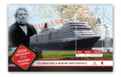 Isle of Man Stamps and Coins forges link with Panama Canal to mark Centenary