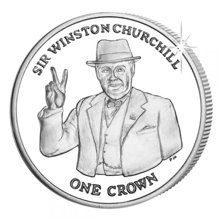 Sir Winston Churchill Crown