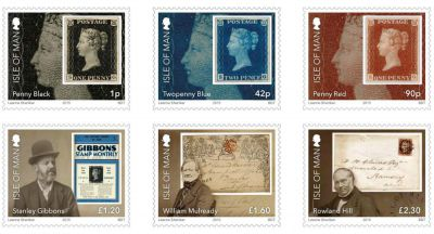 Isle of Man Post Office celebrates 175th Anniversary of the Penny Black