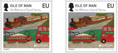 Millennium Tapestry issue date 10th April 2015 - Queens Head Europa sheet error