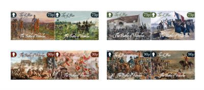 200th Anniversary of the Battle of Waterloo marked by Isle of Man Post Office in collaboration with Waterloo 200