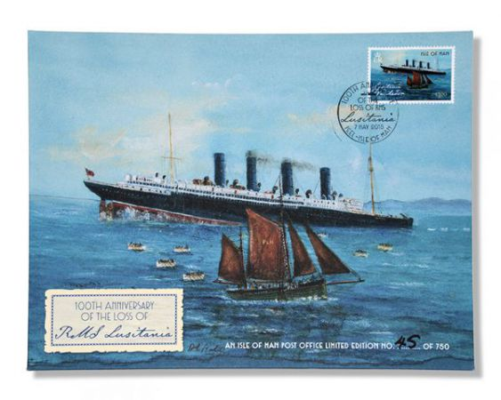 100th Anniversary of the loss of RMS Lusitania Special Cover