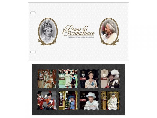 Pomp & Circumstance The Reign of HM Queen Elizabeth II Presentation Pack