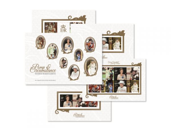 Pomp & Circumstance The Reign of HM Queen Elizabeth II Prestige Booklet