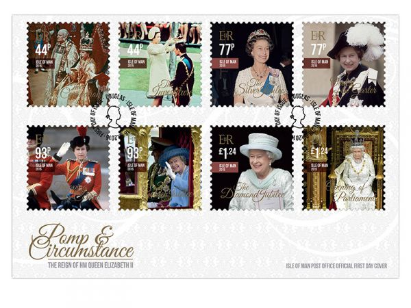 Pomp & Circumstance The Reign of HM Queen Elizabeth II First Day Cover