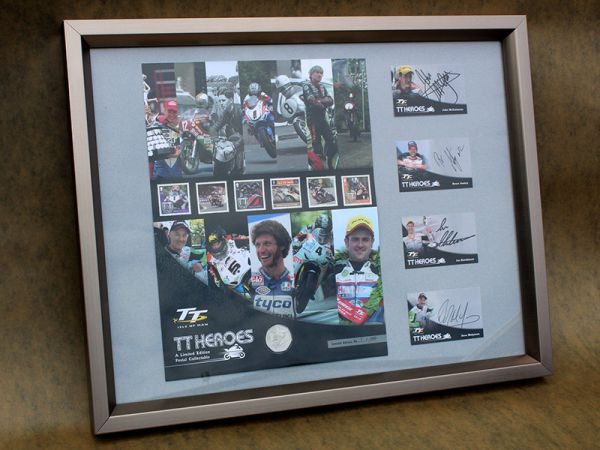 Isle of Man TT Legends Limited Edition Signed Print