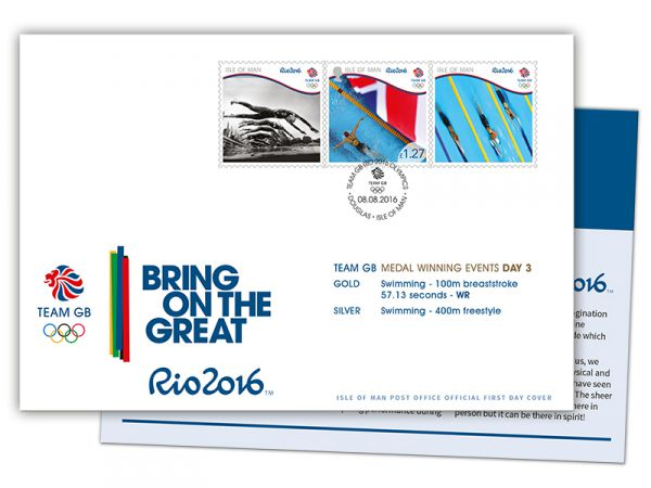 Team GB Rio 2016 Medal Winners Day 3 Special Cover