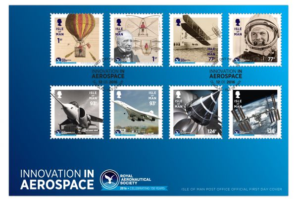 Royal Aeronautical Society 150th Anniversary First Day Cover