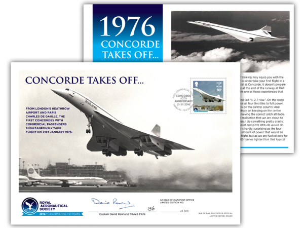 Concorde Special Signed Envelope