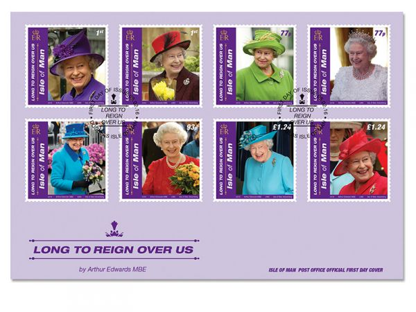 Long to Reign Over Us First Day Cover