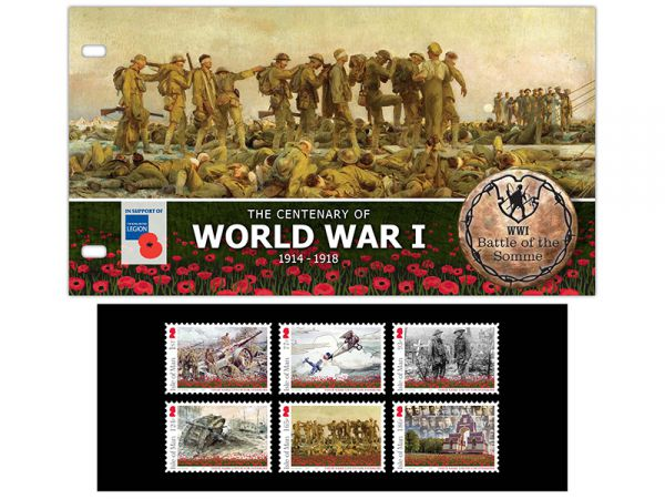 Battle of the Somme Presentation Pack