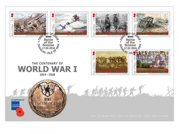 Battle of the Somme First Day Cover