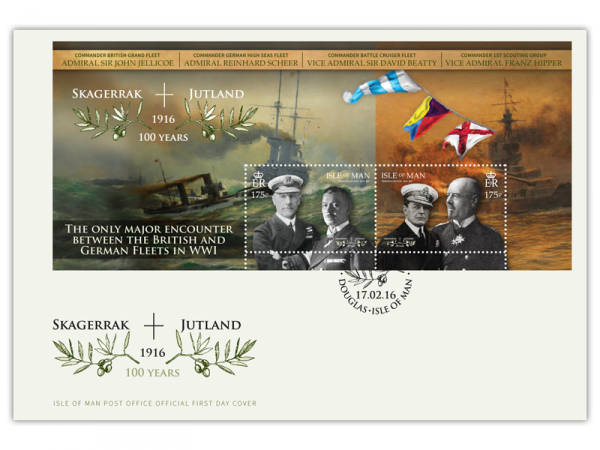 Battle of Jutland First Day Cover