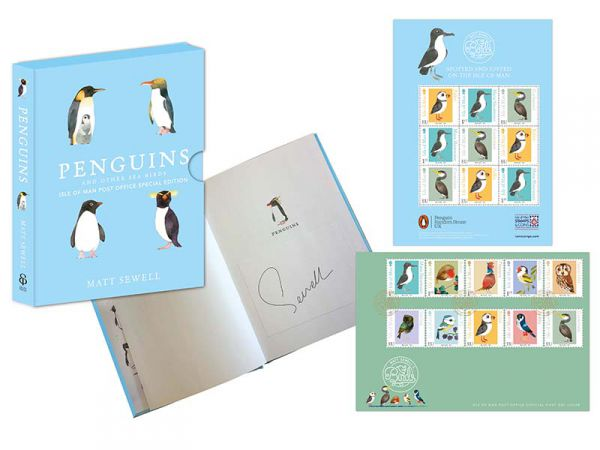Matt Sewell's Penguins and Other Seabirds Book Limited Edition Collection