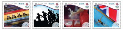 Isle of Man Post Office shows support to Team GB with latest stamp collectables
